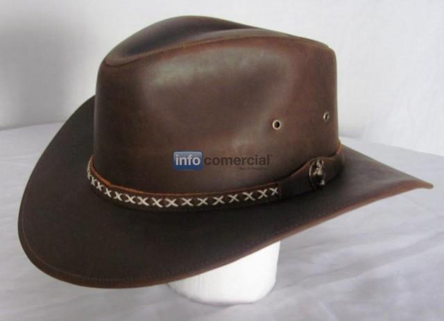 06301fa16eb49 Sombreros de cuero
