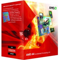 MICROPROCESADORES AMD A4 X2 3300 2.5 GHZ APU BOX