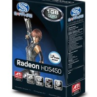 PLACAS DE VIDEOS ATI  RADEON SAPPHIRE HD 5450 1GB DDR3 PCIE HDMI DVI-I VGA