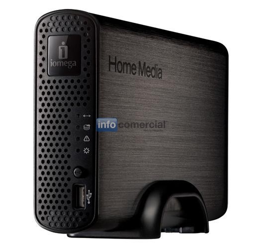 DISCOS RIGIDOS IOMEGA HOME MEDIA NETWORK Hard Drive Cloud Edition 2 TB NAS