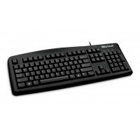 TECLADOS MICROSOFT WIRED 200 BLACK USB ESPA�OL