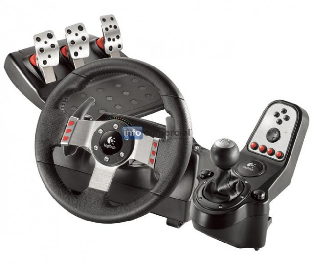 ACCESORIOS Logitech G27 Racing Wheel 941-000046 PC/PS2/PS3