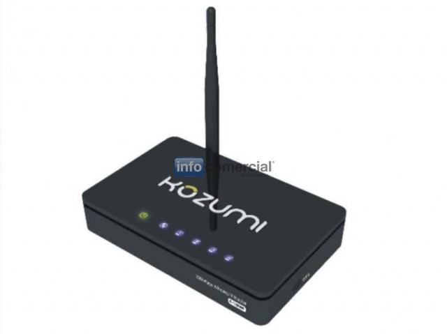 CONECTIVIDAD KOZUMI  K-1550NR WIRELESS WIFI