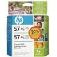 INSUMOS HP COLOR 6657 DUAL PACK POR UNIDAD