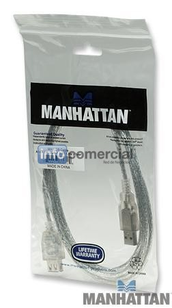 INSUMOS MANHATTAN EXTENSION USB 2.0 1.8 METROS  336314