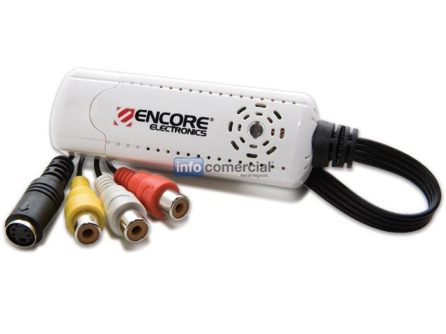 CAPTURADORAS ENCORE ENMVG USB A VIDEO Y AUDIO