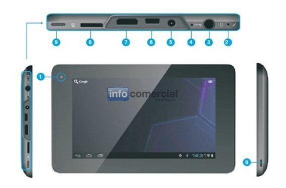 TABLETS / PADS VIEWSONIC E72
