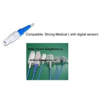 Spo2 sensor for strong patient monitor