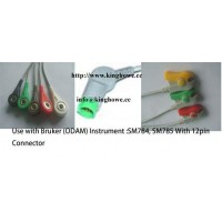 ECG cable for Bruker