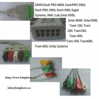 ECG cable for GE