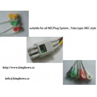 ECG cable for NEC