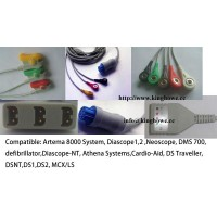 ECG cable for s&w( Artema )