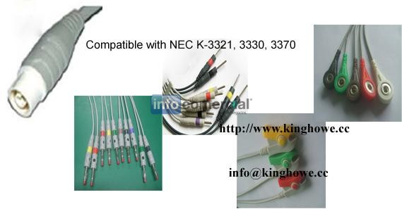 EKG cable for NEC