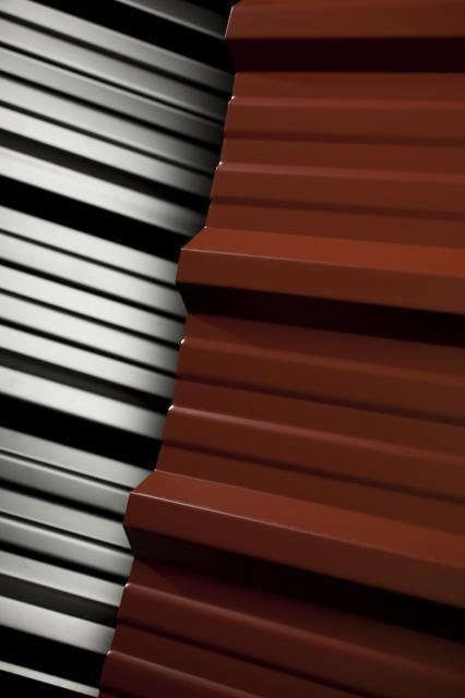 Chapas para techos color c25 x metro zona norte for Precio de chapas de 6 metros