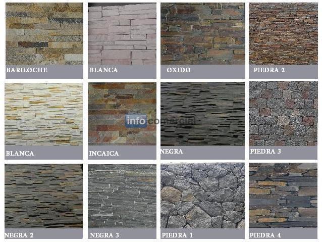 Cascada de agua en piedra para exteriores o interiores - Materiales para fachadas exteriores ...