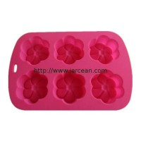 silicone chocolate/butter mould &  ice cube tray