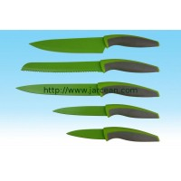 kitchen knives & knife sets & non-stick coating knife with color