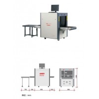 X- ray machine K6550 for luggage inspection