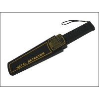 Handheld metal detector with highest sensitivity, sound, vibration and light alarm