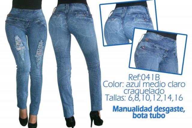 9e68420613e2a jeans levanta cola para dama