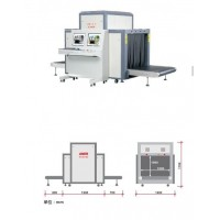 2013 the newest high penetration K100100 x-ray luggage scanner used in airport,station,prison,post office etc