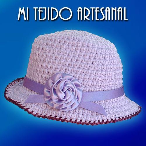 Sombreros para bebés tejidos a crochet - Imagui