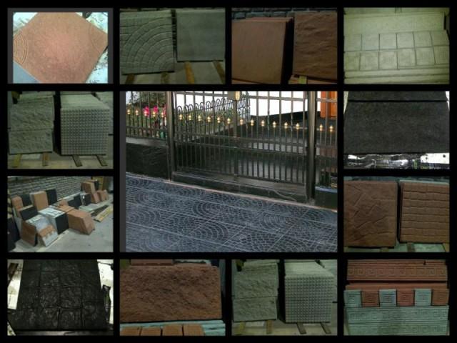 Baldosones para pisos y veredas revestimientos smil laja for Baldosones de cemento