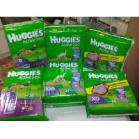 pañales huggies active sec  x mayor