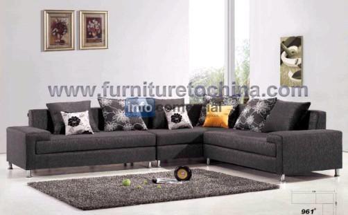 Sof de alta calidad seccional esquina tapicera moderna for Ocio muebles