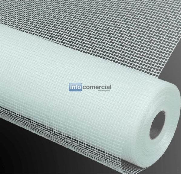 Fibra de vidrio de malla for Malla de fibra de vidrio