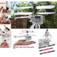 3.5 CH mini palm size IR Folding Copter with Gyro