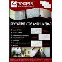 Placas Antihumedad - Revestimiento de Pared