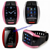 1.8 inch touch screen quad band single sim sport wrist watch cell phone