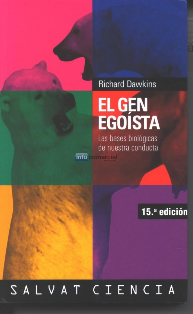 Libro El gen egoista - Richard Dawkins