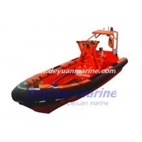 Inflatable fender fast rescue boat