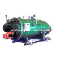 Marine horizontal oil-fired boiler