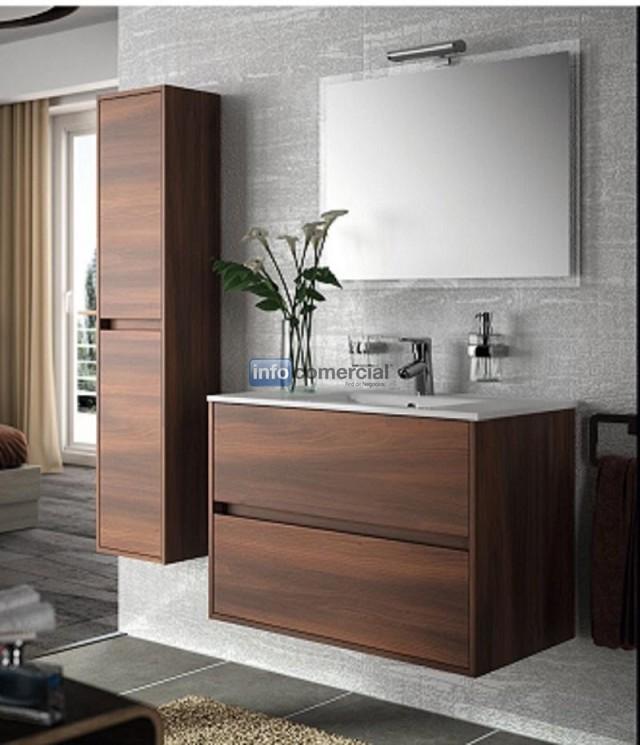 conjunto de mueble de bao mas lavabo salgar