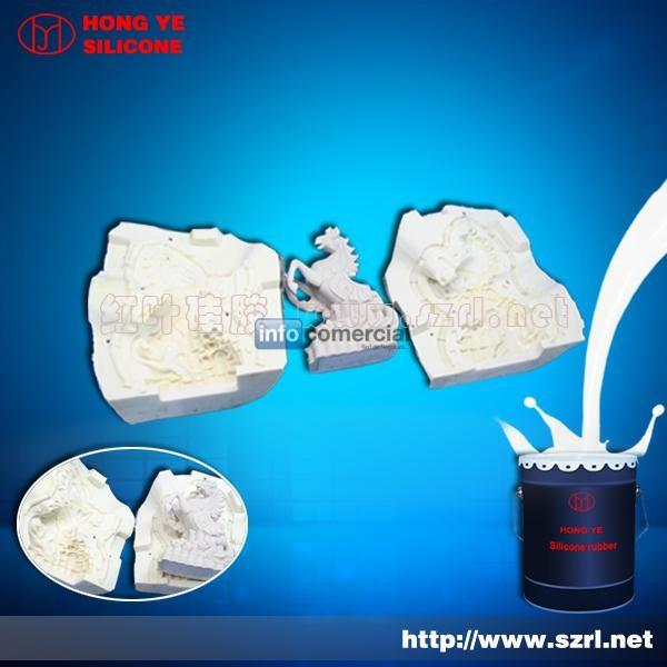 El caucho de silicona de molde for Caucho de silicona