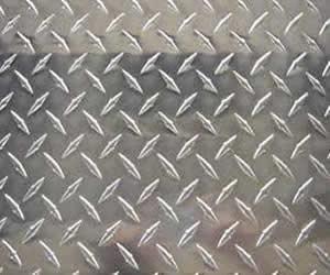 Chapa damero alumino for Chapa antideslizante
