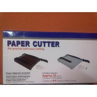 GUILLOTINA PAPER CUTTER 10X13 FORMATO A4 PARA PAPEL S/.149.00