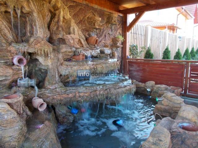 Estanques y cascadas artificiales for Construccion de fuentes y cascadas