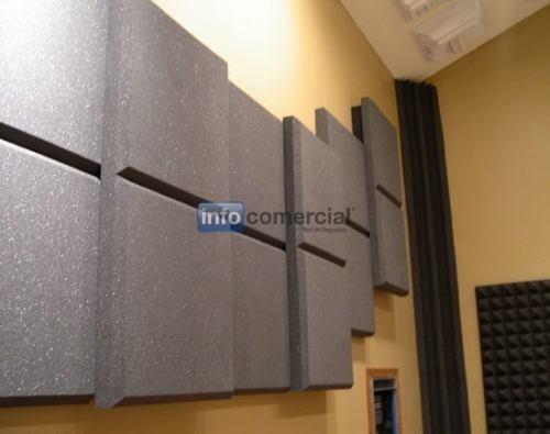Paneles acusticos ignifugos - Material para insonorizar ...