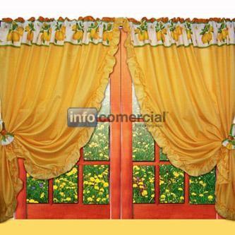 Cortina para cocina c volados - Comprar cortinas cocina ...