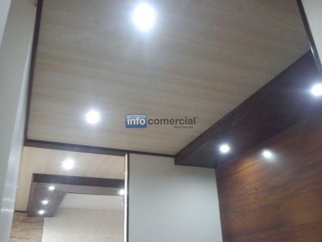 cielo raso techo drywall en lamina de pvc para interiores