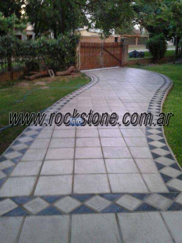 Baldosones para veredas galerias patios etc for Precios de pisos para patios