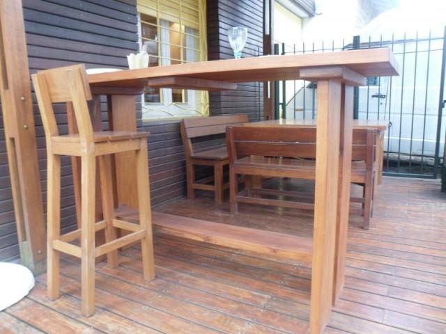 Barras de madera para exterior - Listones de madera para exterior ...