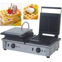 Rectangle waffle baker