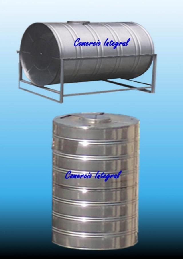 tanque para agua de acero inoxidable