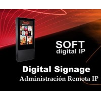 Software digital signage