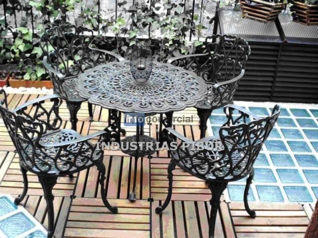 Muebles para exterior terrazas balcon jardin industrias pibur for Muebles para jardin exterior